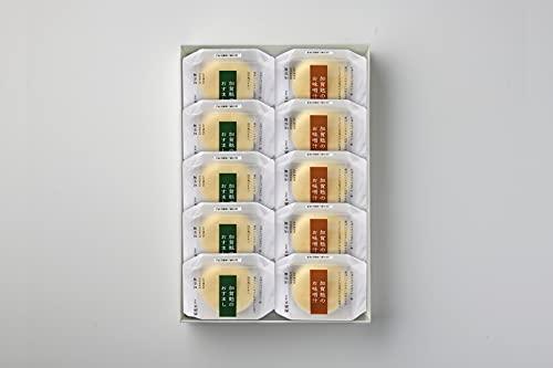 加賀麩不室屋 加賀麩のおすまし お味噌汁 10個入り ギフトセット 純金茶2P付き