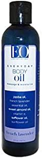 EO, Body Oil French Lavender, 8 Fl Oz
