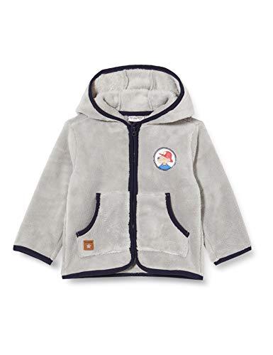 SALT AND PEPPER Gebreid vest voor babyjongens.