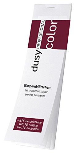 DUSY Wimpernblättchen beschichtet 96 Stck, Farbschutz zum Wimpernfärben