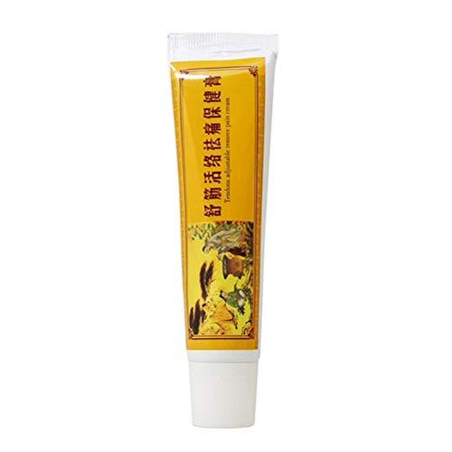 Healifty 1pc Crema analgésica China Shaolin Bálsamo pomada para el Alivio del Dolor de Espalda con Artritis reumatoide