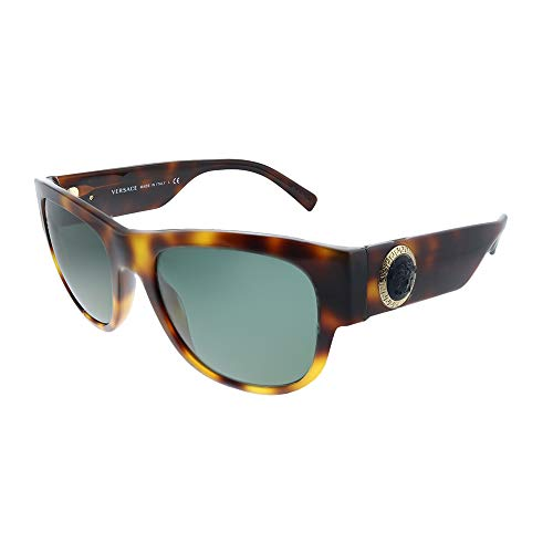 Versace 0VE4359 Gafas de Sol, Havana, 55 para Hombre