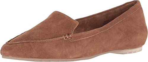 Me Too Audra Chestnut Suede Flat-W-7.5 W