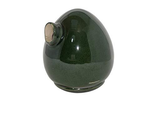 hochwertiges Design Keramik Vogelhaus - Nistkasten -Tree Moosgrün