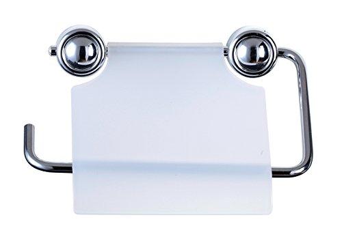 Ribelli WC-Papierhalter transparent Klopapierhalter Klopapier Toilettenpapierhalter