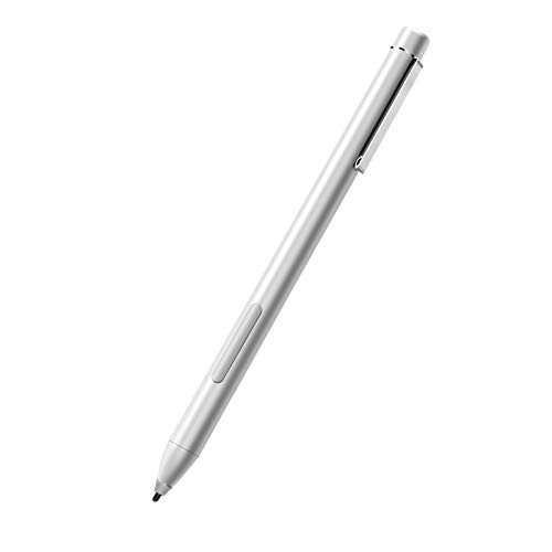 Stylus Pen Compatible with Surface, 1024 Levels of Pressure Sensitivity Pen Compatible with Surface Pro 7 6 5 4 3, Surface Book 2 1, Surface Laptop 3 2 1, Surface Go Including 4A Battery & 1 Extra Nib