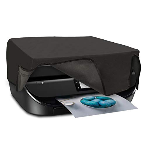 kwmobile Funda Compatible con HP OfficeJet 5230/5232 - Cubierta Antipolvo de Impresora - Forro Protector Gris Oscuro