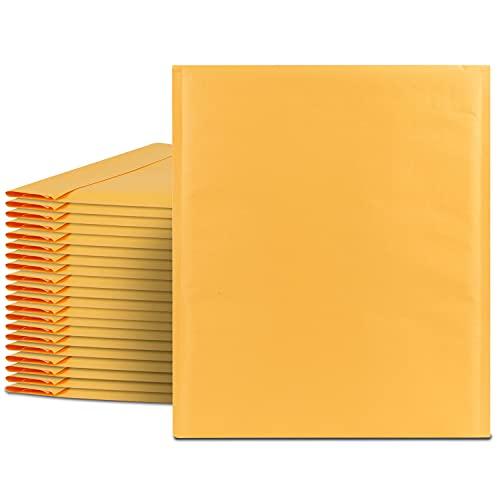 Fosmon #6 Kraft Bubble Mailer 12 x 16, Padded Shipping Envelopes for...