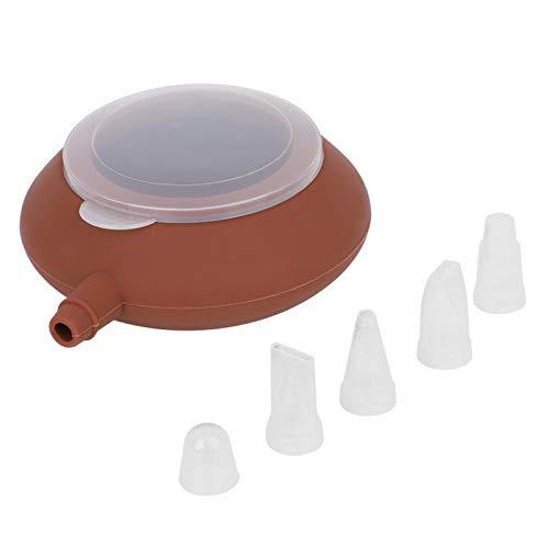 Macaron Pot, Delaman 1 Pc Grand Silicone Macaron Moule Pot Cuisson Décoration Pâtisserie Crème Gâteau Buse Outil Cuisine Accessoires