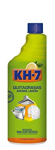 KH-7 - Quitagrasas - Aroma limón 750 ml - Pack de 3 (Total 2250 ml)