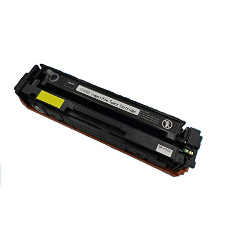 Compatible para HP CF400A 201A Cartucho de tóner de repuesto para HP Color Laser Jet M252dw M252n MFP M277dw M277n M274n, con chip-black