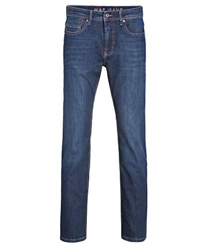 MAC Jeans Herren Hose Ben Alpha Denim , Dark Vintage Wash, 32W / 34L