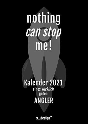 Kalender 2021 für Angler / Anglerin: DIN A4 Tagesplaner / Wochenplaner / Terminkalender für das ganze Jahr: Termin-Planer / Termin-Buch / Journal für ... von 7 bis 21 Uhr [4 Termine pro Stunde]