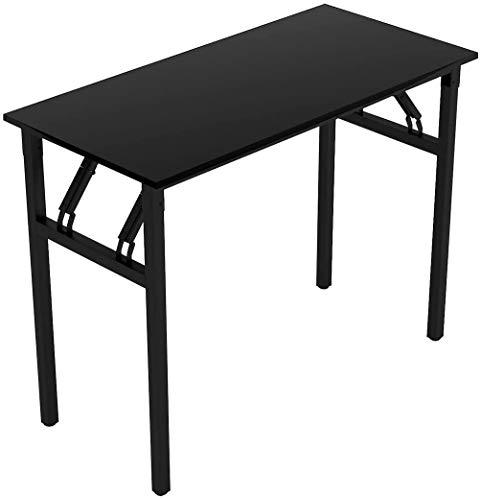 LLDKA Folding Schreibtisch Klapptisch Arbeitszimmer Computer-Schreibtisch für kleine Raumstudie