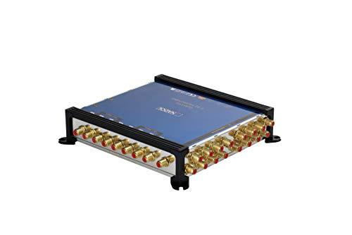 LNB + MULTISCHALTER Set: Anadol Gold Line 9/16 Multischalter [ Test SEHR GUT ] für 2 Satelliten und 16 Ausgänge/Receiver + 2X Anadol Quattro LNB [ Test 2X SEHR GUT ] 41 vergoldete F-Stecker gratis