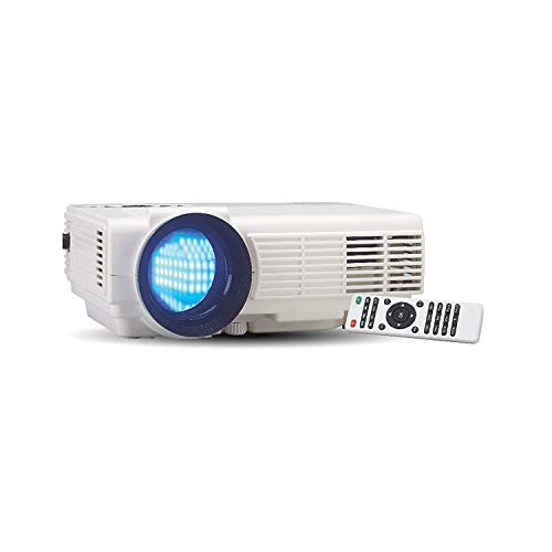 RCA RPJ116 2000 1080P HDMI Home Theater Projector with Lumens Color Brightness (Non-Retail Packaging)