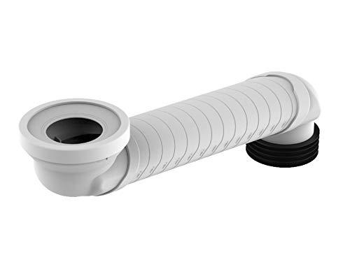 Sanit WC-Versprungbogen 60-350 mm