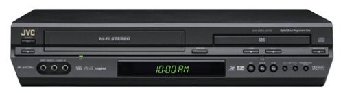 Find Cheap JVC HRXVC26U Progressive-Scan DVD/VCR Combo , Black
