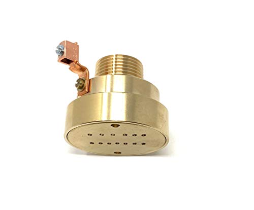 Southeastern Accessory Swimming Pool Spa Brass Deck Jet Fountain Crown Nozzle w/Ground Lug