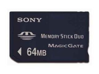 Sony MSH-M64N Memory-Stick Duo 64 MB (ohne Adapter)