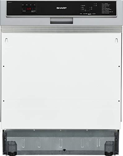 Sharp QW-HD44I-DE Vollintegrierbarer Geschirrspüler 60cm / A+++ / 15 Maßgedecke / 9 Programme