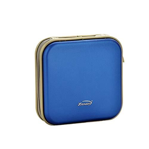 rongweiwang Geformte 40 Kapazität CD/DVD/VCD Case Schwarze CD-Tasche Fall-Speicher-Organisator-Fall Disc-Halter-Mappen