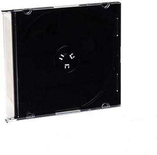 Verbatim CD & DVD Slim Jewel Cases, Black, Pack of 200