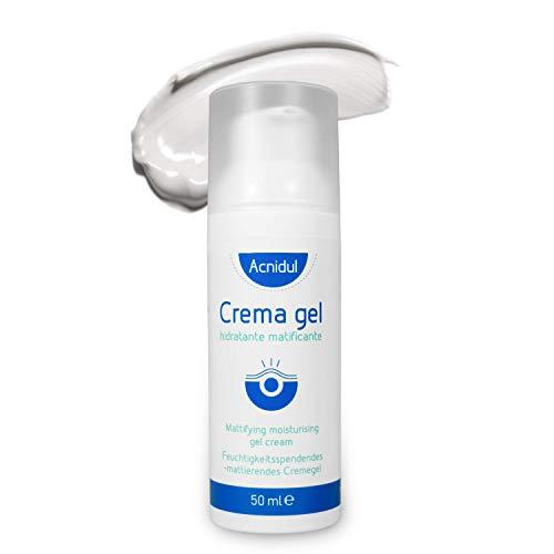 ACNIDUL | Crema gel Antiacne con ácido glicólico y caléndula | Limpiador facial | Evita granos y espinillas | 50 ml |