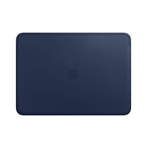 Apple Leather Sleeve (for 13-inch MacBook Air and MacBook Pro) – Midnight Blue