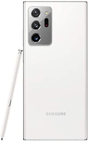 Samsung Galaxy Note 20 Ultra 5G Factory Unlocked Android Cell Phone 128GB US Version Mobile Gaming Smartphone Long-Lasting Battery, Mystic White WeeklyReviewer