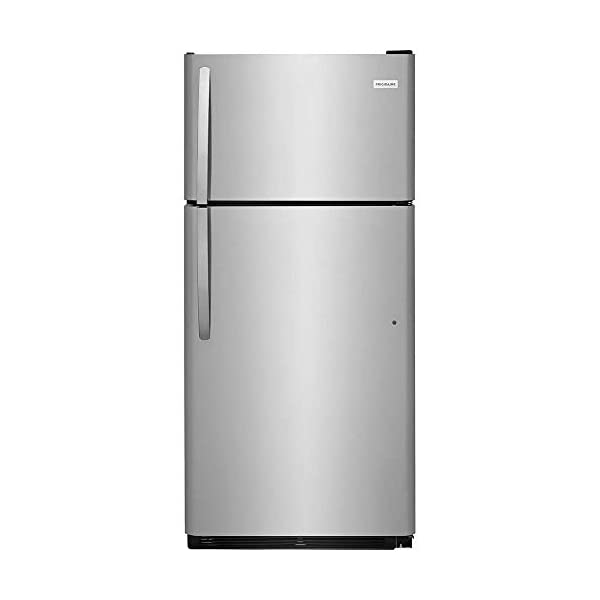 Frigidaire FFTR1821TS 30 Inch Freestanding Top Freezer Refrigerator with 18 cu. ft....
