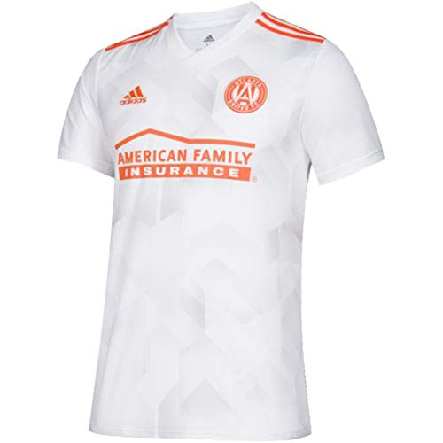 adidas Youth Atlanta United FC Away Replica Jersey-Small White