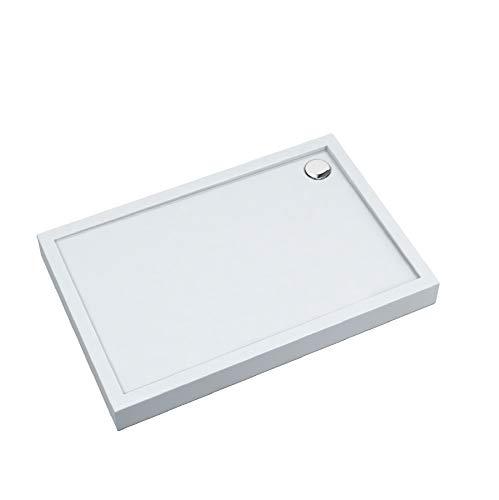 Duschtasse Duschwanne Acrylwanne Acrylschürze Stabilsound® inkl. Träger 12cm70x120x12