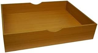 The Storage MAX - Underbed Wooden Organizer with Wheels - Beech