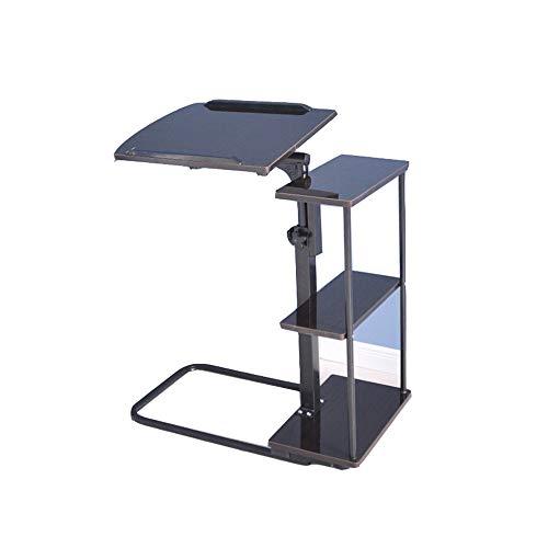 Table de Chevet ZXQZ Zhuozi Amovible Pliable pour Ordinateur Portable, Bureau de lit, Table d'appoint, Table d'appoint multifonctionnelle, économisant de l'espace