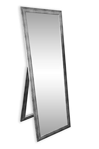 Ramix STANDSPIEGEL, Stehender Spiegel, 140 x 60cm, 3 Farbe Optional, Silber