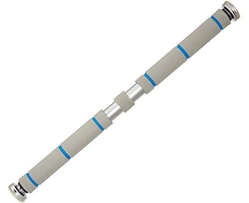 Tough Ape Barre de traction pour porte Équipement de gym à domicile et de fitness intérieur Coussinets en mousse Acier robuste Tractions Taille de la porte 66 à 99 cm Poids maximal de 136 kg