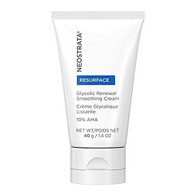 NEOSTRATA RESURFACE Glycolic Acid Renewal Smoothing Face Moisturizer & Neck Cream - 10% Alpha Hydroxy Acid (AHA), Shea Butter, Citric Acid, Glycerin; Anti-Aging, Anti-Wrinkle; 1.4 ounce