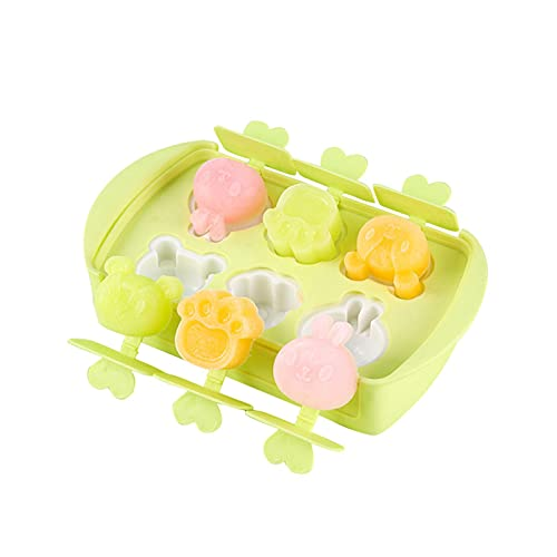 wangstar DIY Popsicle Mold Molde De Silicona para Helado Molde Helados Silicona Mini Popsicle Mold Moldes para Helados De Silicona Molde De Helado De Paleta De Grado Alimenticio