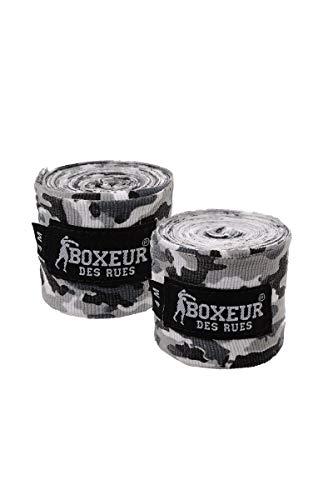 BOXEUR DES RUES - Camouflage-grey Boxing Bandages