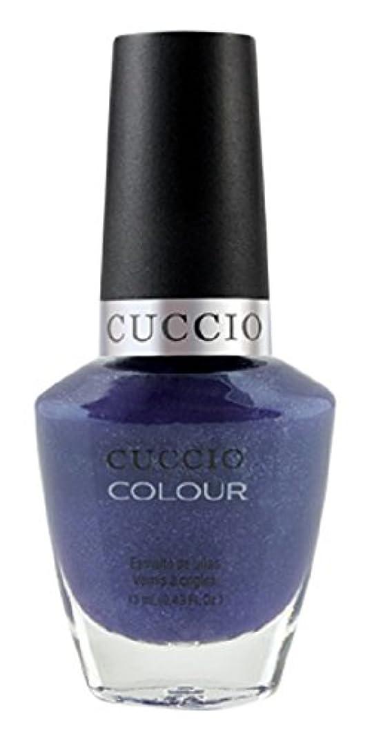 漫画驚くべきエンドウCuccio Colour Gloss Lacquer - Purple Rain in Spain - 0.43oz / 13ml