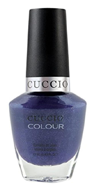 ファックス手橋脚Cuccio Colour Gloss Lacquer - Purple Rain in Spain - 0.43oz / 13ml