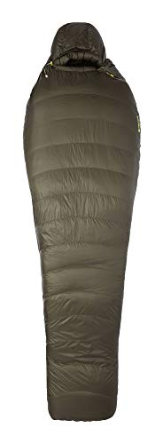 Marmot Unisex-Adult Phase 30 Mumienschlafsack, Ultra-Leichter und Warmer Daunenschlafsack, 850er Gänsedaunenfüllung, ideal zum Camping und Trekking, Nori, Normal: 183 cm