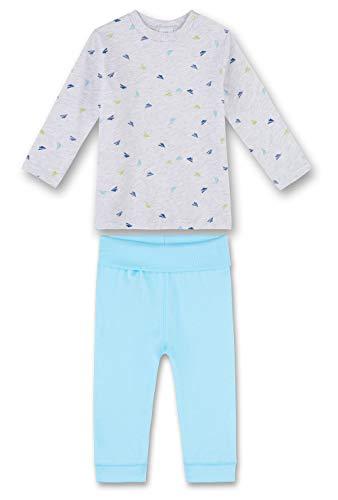 Sanetta Sanetta Baby-Jungen 221381 Zweiteiliger Schlafanzug, Beige (Sand Melange 1952), 98