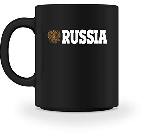 generisch Russia Russland - Tasse -M-Schwarz