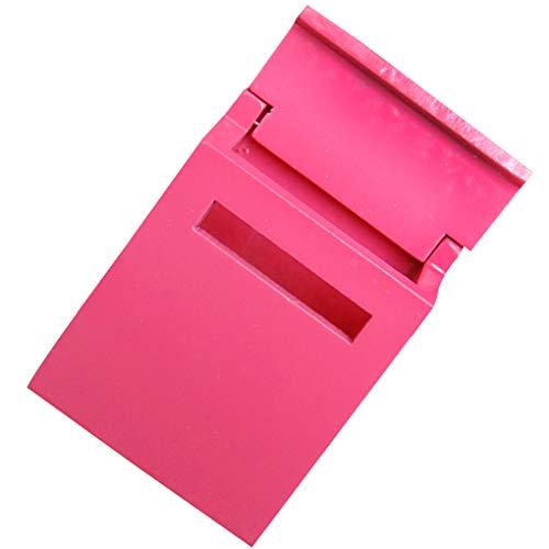 1:12 Houten poppenhuis Mini-meubelmodel Klassiek Leuke koffer, 1:12 Fairy Garden Letter Open Cover Letter Box Miniature Case