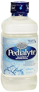 Pedialyte Liquid - Unflavored - 33.8 oz, Pack of 2