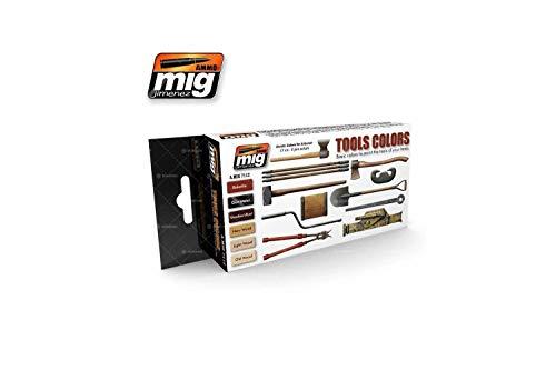 Ammo MIG-7112 zestaw farb akrylowych, wielokolorowe