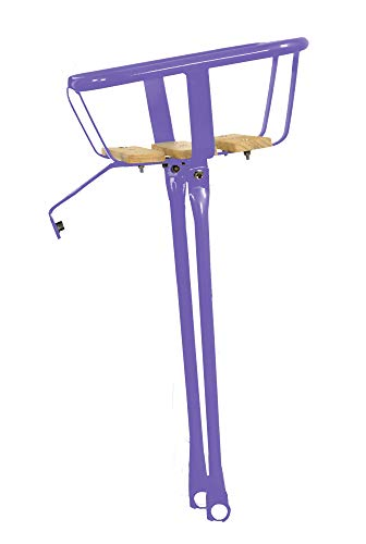 Save %14 Now! Hollandia Front Carrier Rack, Wood Base, Purple