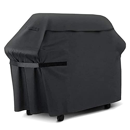 LFOZ Cubierta para parrilla de barbacoa, color negro, resistente al agua, protección...